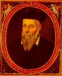 Мишель Нострадамус (1503-1566). Фотография Мишеля Нострадамуса. Нострадамус. Единственный достоверный портрет кисти его сына Сезара.